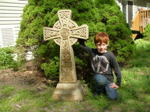 "40"" Celtic Cross"